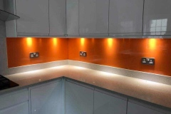 Glass Kitchen Splash Back